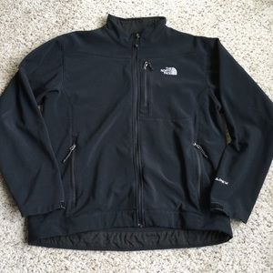 The North Face Apex Bionic Jacket Black Zip Up